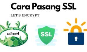 Cara Pasaang SSL