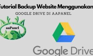 Google Drive di aaPanel