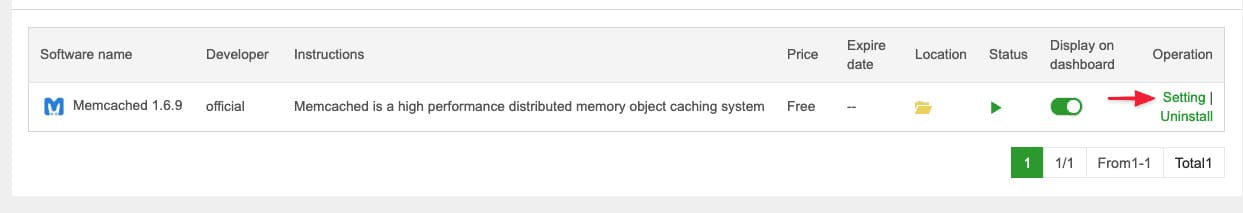 memcached 3