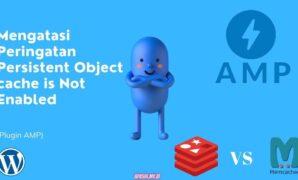 Mengatasi Peringatan Persistent Object cache is Not Enabled